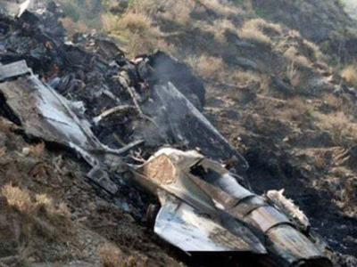 پنڈی گھیب میں مکیال کے قریب پاک فضائیہ کا طیارہ گرگیا، پائلٹ محفوظ