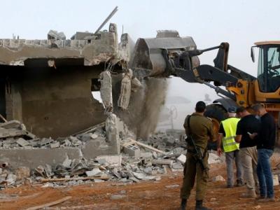 اسرائیلی فوج نے پورا فلسطینی گاؤں تباہ کر دیا